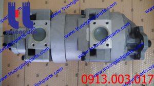 Bơm thủy lực bánh răng xúc lật KOMATSU 470-5 , WA480-5 . P/N : 7055543000