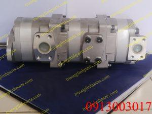 Bơm thủy lực bánh răng xe đào KOMATSU PC60-3