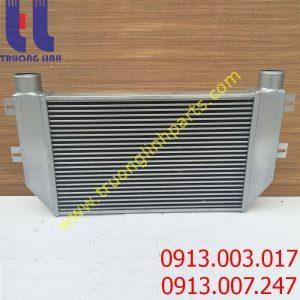 Két làm mát khínạp intercooler cho xe HYUNDAI R455-7 , R210W-9 , R225-9T , R275-9T , R305-9 , R225-7 , R305-9T , R335-9T , R385-9T