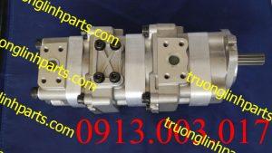 Bơm thủy lực bánh răng xe đào KOMATSU PC28UU-1 , PC28UD-1 , PC28UG-1 / 705-41-08100