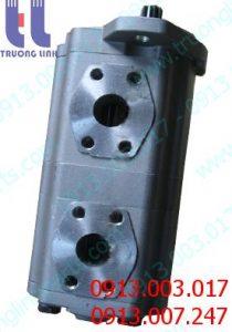 Bơm thủy lực bánh răngKAYABA 23A60-11301 cho xe gạt KOMATSU GD510