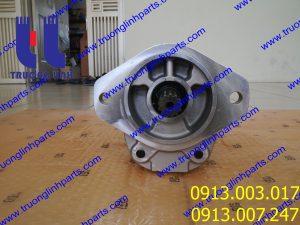 Bơm thủy lưc bánh răng 705-55-24130 xúc lậtKOMATSU WA300LC-3 , WA320-3