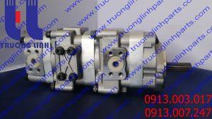 Bơm thủy lực bánh răng 705-41-08080 xe đào KOMATSUPC38UU-2 PC25-1