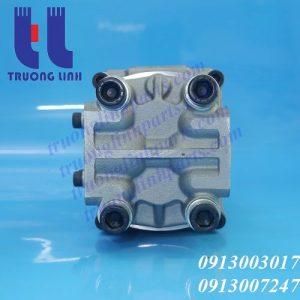Bơm tổng máy đào, bơm thủy lực 3 tầng cho máy đào Komatsu PC20UU-6, PC28UU-2, PC30UU-6, PC38UU-1, PC40-6, PC50UU-2.