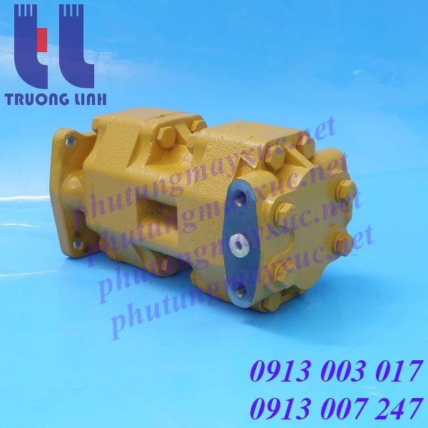 Bơm thủy lực lái cho dòng xe Ủi Komatsu D50P-16, D50A-16, D50PL-16.