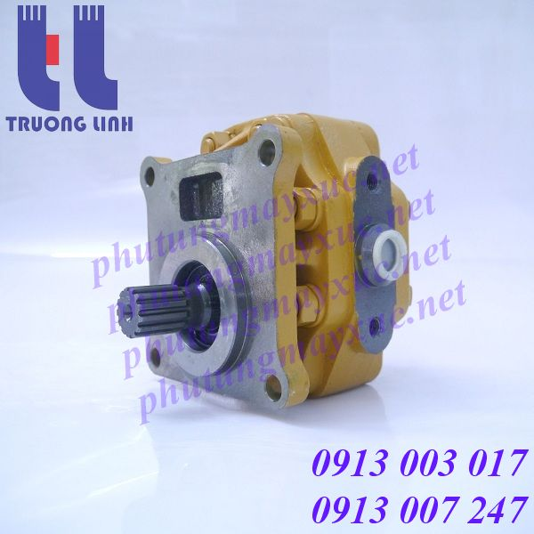 Bơm lái xe Ủi Komatsu D75A-1, D65S-6, D65S-7, D65S-8, D65P-8, D65P-7, D65P-11, D65P-11D, D65E-8, D65E-6, D65A-8, D65A-11, D65A-6, D65A-11D.