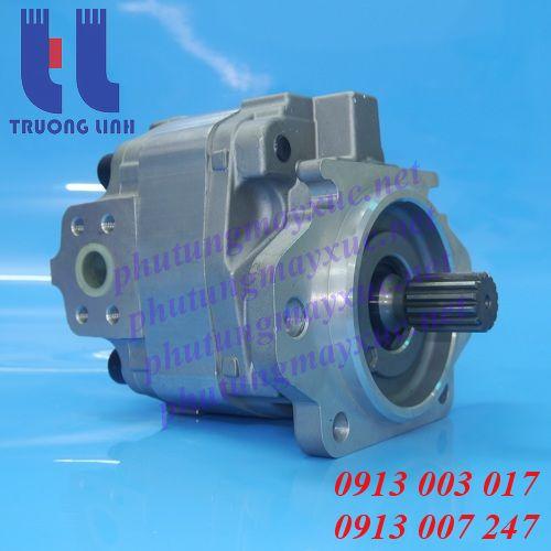 Bơm thủy lực xe cơ giới - Bơm hộp số Xe Xúc Lật Komatsu 545, WA450 – Xe Tải Komatsu HD205-3, HD325-5.