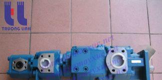 Bơm bánh răng xe cẩu Kato – Bơm thủy lực bánh răng chính hãng cho xe cẩu: KR25H-V, NK500E-III, KR20H-3, KR25H-3, KR25H-2, KR25H, NK1600 - NK1600-V, NK450B-II, NK800.