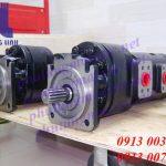 Bơm thủy lực xe xúc lật Kawasaki ─ Bơm thủy lực bánh răng cho xe: 90ZIV-2, 95ZIV-2, 80ZIV-2, 85ZIV-2, 75ZIV-2, 70ZIV-2, 90ZV-2, 95ZV-2