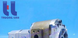 Bơm thủy lực Shimadzu chính hãng của Nhật Bản FT3-50.16.11R001( FT3-50.16.11A9S9R001) Xe Xúc Lật Hitachi LX70-2.