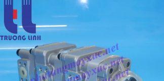 Bơm thủy lực Bánh răng Komatsu. Bơm thủy lực xe Xúc Đào Komatsu PC38UU-1.