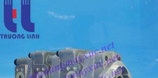 Bơm thủy lực Bánh răng Komatsu. Bơm thủy lực xe Xúc Đào Komatsu PC38UU-2.