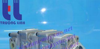 Bơm thủy lực Bánh răng Komatsu. Bơm thủy lực xe Xúc Đào Komatsu PC40-7.