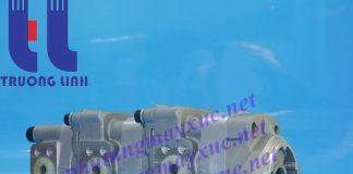 Bơm thủy lực Bánh răng Komatsu. Bơm thủy lực xe Xúc Đào Komatsu PC28UU-2.