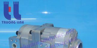 Bơm thủy lực Bánh răng Komatsu. Bơm thủy lực xe Xúc Đào Komatsu PC40-2.