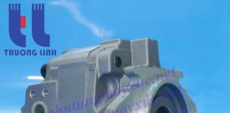 Bơm thủy lực Bánh răng Komatsu. Bơm thủy lực xe Xúc Lât Komatsu WA450-2.