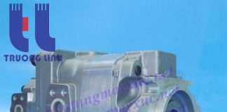 Bơm thủy lực Bánh răng Komatsu. Bơm thủy lực xe Xúc Lât Komatsu WA500-1.