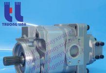 Bơm thủy lực Bánh răng Komatsu. Bơm nâng hạ xe Xúc Lật Komatsu WA500-1.