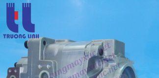 Bơm thủy lực tổng Bánh răng Komatsu. Bơm thủy lực xe Xúc Lật Komatsu 558.