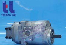 Bơm thủy lực Bánh răng Komatsu. Bơm hộp số xe Xúc Lật Komatsu 532.