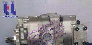 Bơm thủy lực tổng Bánh răng Komatsu. Bơm thủy lực xe Xúc Lật Komatsu WA400-3.