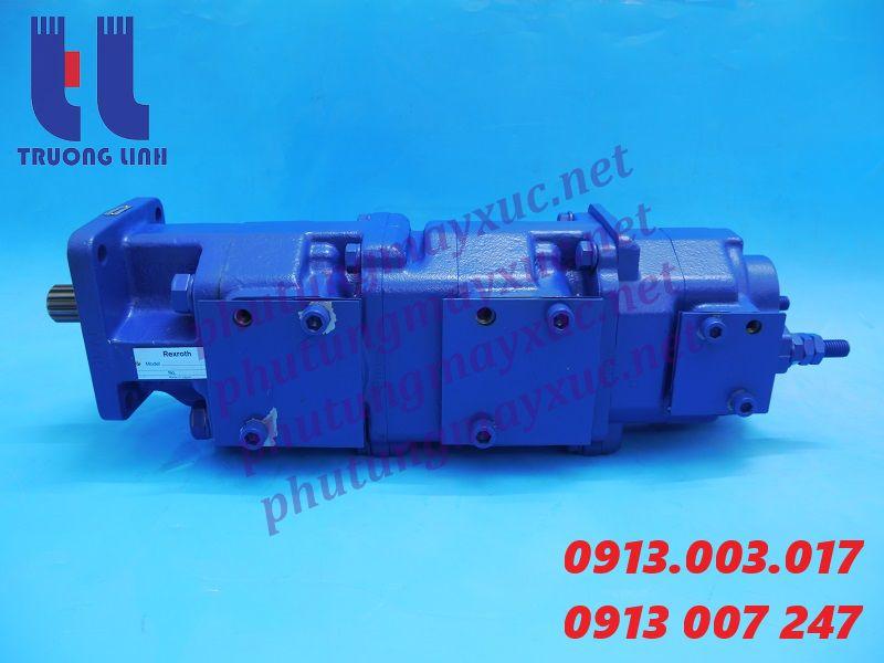Bơm thủy lực Bánh răng. Bơm thủy lực xe Cẩu Kato NK700E-3.