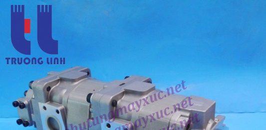 Bơm thủy lực Bánh răng Komatsu. Bơm nâng hạ xe Xúc Lật Komatsu WA430-5.