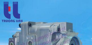 Bơm thủy lực Bánh răng Komatsu. Bơm nâng hạ xe Xúc Lật Komatsu WA500-3.