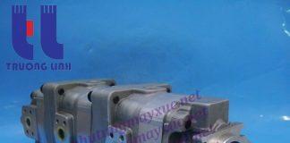 Bơm thủy lực tổng Bánh răng Komatsu. Bơm thủy lực xe Xúc Lật Komatsu WA350-1.