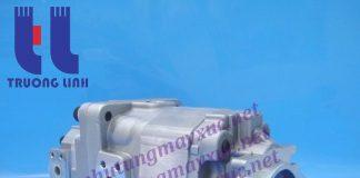 Bơm thủy lực Bánh răng Komatsu. Bơm nâng hạ xe Xúc Lật Komatsu WA400-3.